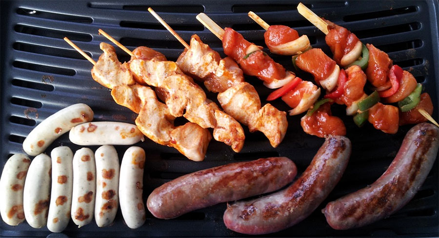 Barbecue Meat Sausages